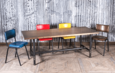 modern dining table retrocow