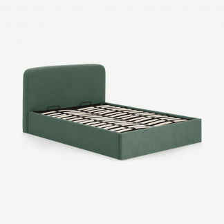 Retrocow Besley King Size Bed with Ottoman Storage
