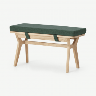 Retrocow Jenson End-of-Table Dining Bench